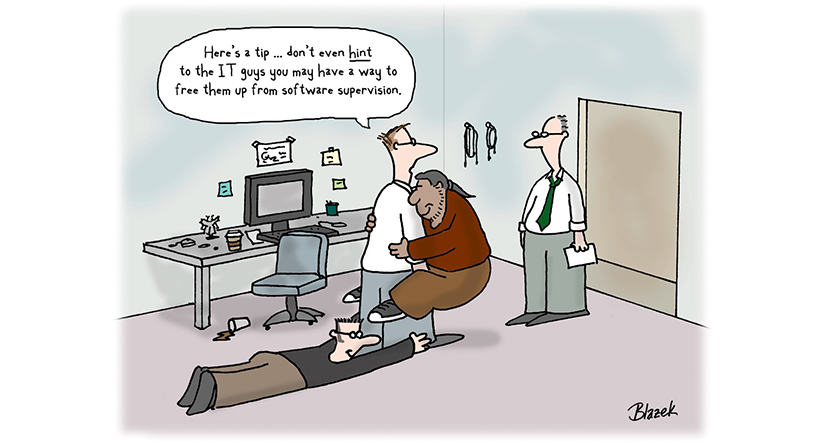 mobile device management humor